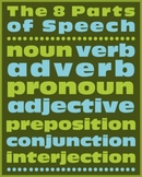 PARTS OF SPEECH POSTER (8X10)