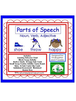 PARTS OF SPEECH: noun/verb/adjective