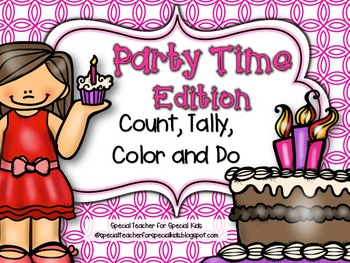 PARTY TIME  Edition * Color, Count, Tally & Do- Instant an