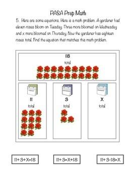 PASA Prep for Math *NEW*