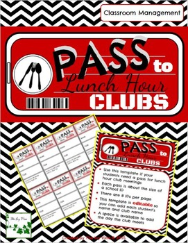 PASS to Lunch Hour Clubs