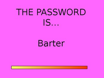 PASSWORD - AMAZING WORDS FOR READING STREETS 1.2