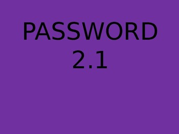 PASSWORD - AMAZING WORDS FOR READING STREETS 2.1