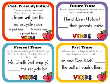 Past Present Future Verbs