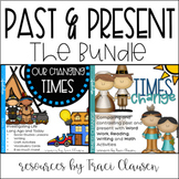 Thanksgiving and PAST and PRESENT Social Studies, ELA  and Crafts - BUNDLE