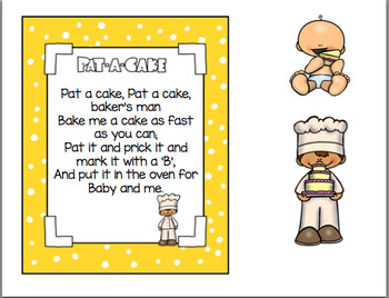 PAT A CAKE NURSERY RHYME