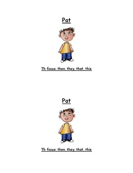 PAT - Th Focused Sight Word Reader - Guided Reading - Homeschool