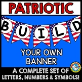 PATRIOTIC BULLETIN BOARD BANNERS (4TH OF JULY ACTIVITIES K