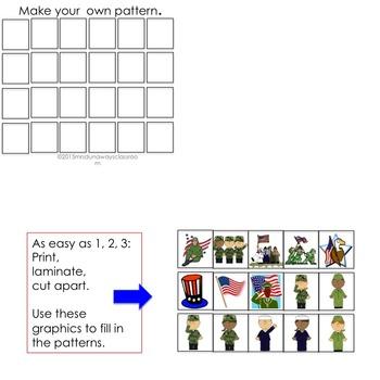PATRIOTIC Patterns