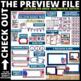 PATRIOTIC THEME Classroom Decor - EDITABLE Clutter-Free Cl