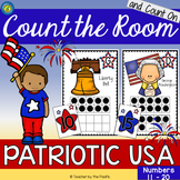 PATRIOTIC USA Count the Room and Count On