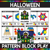 PATTERN BLOCK HALLOWEEN Task Cards