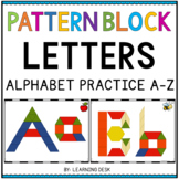 PATTERN BLOCK LETTERS - PATTERN BLOCK ACTIVITIES