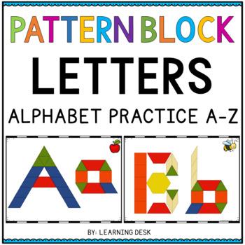 PATTERN BLOCK LETTERS - PATTERN BLOCK ACTIVITIES