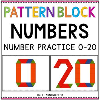 PATTERN BLOCK NUMBERS - PATTERN BLOCK ACTIVITIES