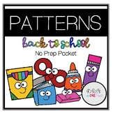 PATTERNS MINI UNIT (BACK TO SCHOOL MATH THEME!)