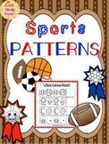 PATTERNS: Sports Patterns Worksheets