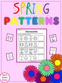 PATTERNS: Spring Patterns Worksheets