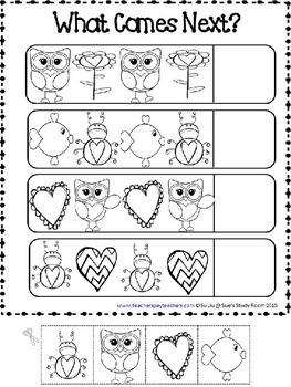 PATTERNS: Valentine Patterns Printables