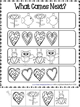 PATTERNS: Valentine Patterns Printables