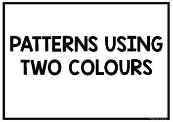 PATTERNS WITH PADDLE POP STICKS