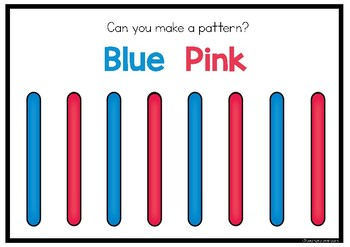 PATTERNS WITH PADDLE POP STICKS