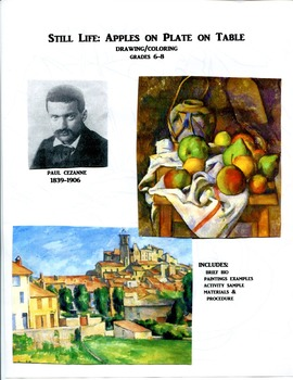 PAUL CEZANNE ART LESSON