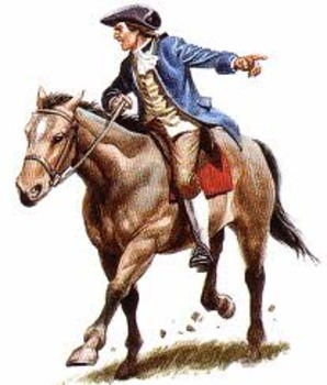 paul revere art and clip art collection by michelle paul revere clip art images Paul Revere Drawing