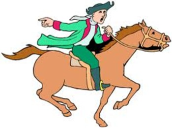 Image result for clipart paul revere