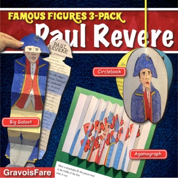 PAUL REVERE ACTIVITIES: 3 Hands-On Projects and Foldable Craftivities