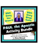 Paul, The Apostle - Activity Bundle: Bingo and You-Draw-It!