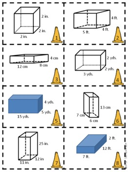 P.A.V. Construction Volume Match Activity