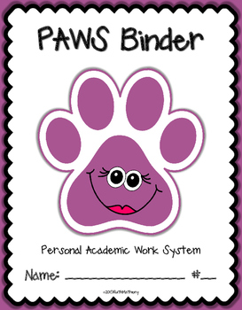 PAWS Binder {Student Organization Folder}