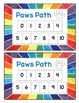 PAWS PATH addition game