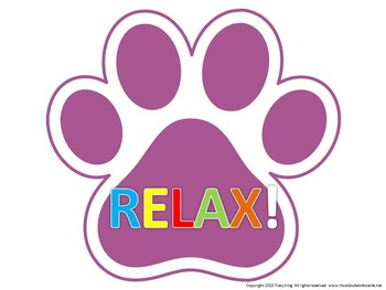 """PAWSitive Test Taking """"Prepare And you Will Succeed"""" Bulletin Board"""