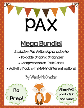 PAX novel by Sara Pennypacker - Mega Bundle!
