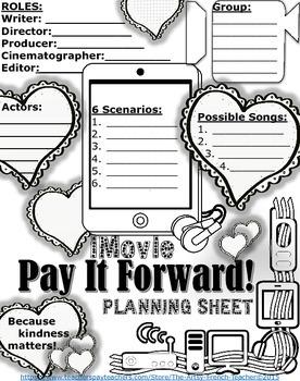 PAY IT FORWARD - iMovie Drama Unit