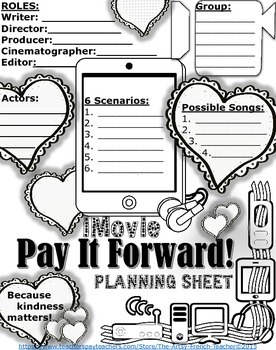 PAY IT FORWARD - iMovie Drama Unit