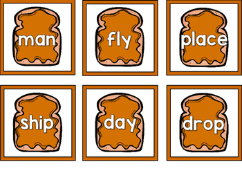 PB & J Compound Words Matching Game
