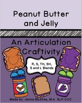 PB&J Craftivity, An Articulation Craft