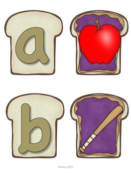 PB&J Letter/ Sounds Matching