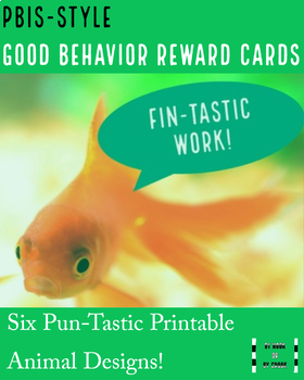 PBIS Animal-Themed Cards