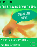 PBIS Animal-Themed Reward Cards