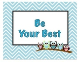 PBIS Be your Best Owls