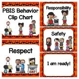 'King of the Jungle' PBIS Behavior Chart