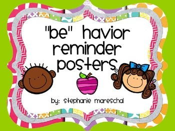 PBIS Behavior Posters {Freebie}