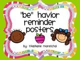 PBIS Behavior Posters {Freebie}