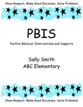 PBIS Binder Cover