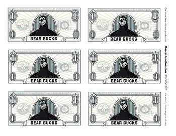 PBIS Black Bear Rewards