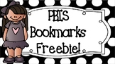 PBIS Bookmarks Freebie!